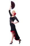 Danças da dança do dançarino Imagens de Stock
