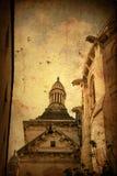 danat gammalt för byggnad Europa royaltyfri fotografi