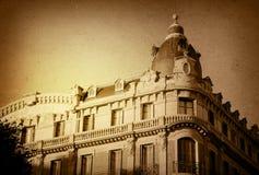 danat gammalt för byggnad Europa arkivfoton