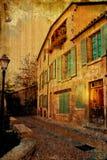 danat gammalt för byggnad Europa arkivbild