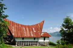 danau印度尼西亚北部苏门答腊户田 免版税库存图片