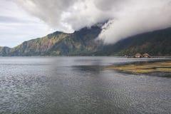 Danau Batur στο νησί του Μπαλί Στοκ εικόνες με δικαίωμα ελεύθερης χρήσης