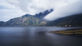 Danau Batur στο νησί του Μπαλί Στοκ φωτογραφίες με δικαίωμα ελεύθερης χρήσης