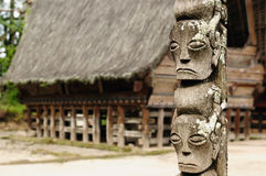 danau indonesia norr sumatra toba Arkivfoto