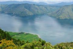 danau indonesia sumatra toba Fotografering för Bildbyråer