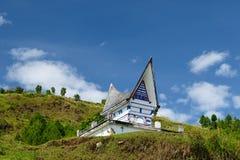 danau indonesia sumatra toba Royaltyfri Bild