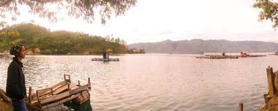 Danau Laut Tawar. Laut Tawar Lake placed in Takengon central Aceh,  aceh indonesia Royalty Free Stock Photos