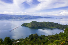 Danau Toba jezioro Obrazy Royalty Free