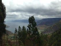 Danau Toba / Lake Toba / Sumatra Stock Image
