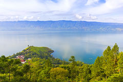 Danau toba scenery Royalty Free Stock Image