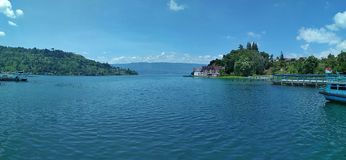 Danau toba simalungun indonesia. Lake toba nort sumatera indonesia royalty free stock photos