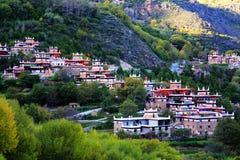 Danba Jiaju Tibetan Village Stock Image