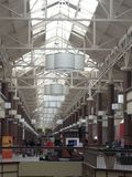 Danbury Fair Mall in Connecticut, USA. It is the second largest shopping mall in Connecticut as well as the fifth largest in New England Royalty Free Stock Photos