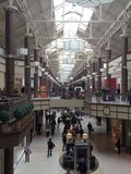 Danbury ganska galleria i Connecticut, USA royaltyfri foto