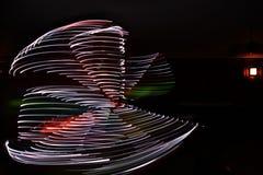 Danccer leggero egiziano Fotografia Stock