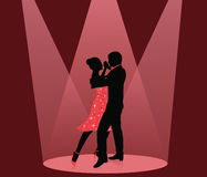 Dance. stock illustration