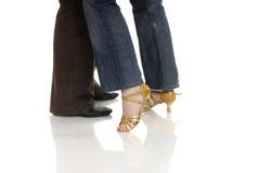 Dance. Boy and girl dancing salsa Stock Photo