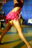Dance. Dancing legs .Internacionale dance competition in all class Stock Photography