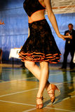Dance. Internacionale dance competition in all class Stock Images