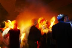 Dance. Dancing people on the party Royalty Free Stock Images