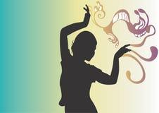 Dance. A woman dancing Stock Photo