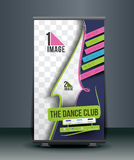 Dance Academy Business Roll Up Banner Stock Image