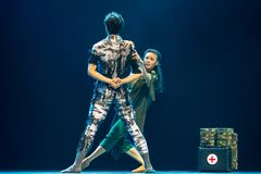 Chinese dance collection Royalty Free Stock Images