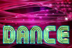 Dance background Royalty Free Stock Photos