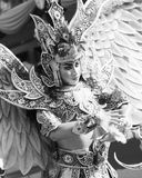 Dance. In Bali....Indonesia festifal carnival in Jember Royalty Free Stock Images