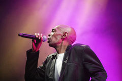 Dance Band faithless in Concert Royalty Free Stock Photography