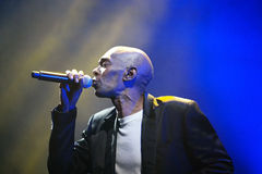 Dance Band faithless in Concert Royalty Free Stock Photos