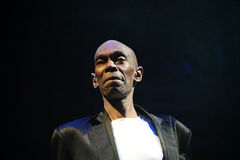 Dance Band faithless in Concert Stock Image