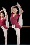 Dance basic training Stock Photography