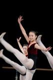 Dance basic training Royalty Free Stock Photo
