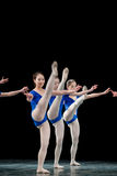 Dance basic training Royalty Free Stock Photography