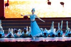 Dance: a beautiful jasmine Stock Photography