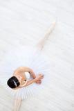 Dance. Beautiful young ballerina in pointe stock photos