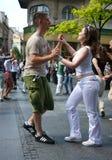Dance in Belgrade Royalty Free Stock Photos