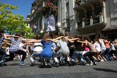 Dance in Belgrade Royalty Free Stock Image