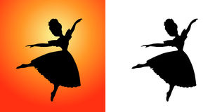 Dance. Best Dance Performance  created in Illustrator Stock Images