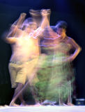 Dance blur Royalty Free Stock Photography