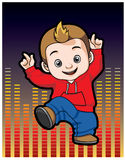 Dance boy Royalty Free Stock Photo