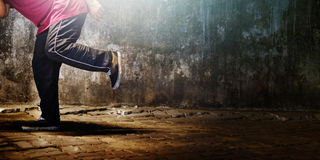 Dance Breakdance Dance Performers Skill Sport Concept Stock Photo