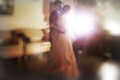 Dance bride and groom Royalty Free Stock Image