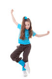 Dance child. Dancing and balance Royalty Free Stock Image