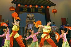 Chinese dance. Dance in China is a highly varied art form, consisting of many modern and traditional dance genres stock photos