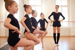 Dance Class for Girls stock photos