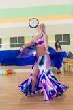 Dance class for women blur background Stock Photography