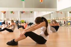 Dance class for women Stock Image