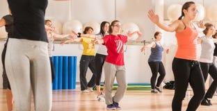 Dance class for women Royalty Free Stock Photos